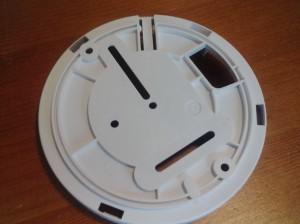 Montageplatte vom Ei650 Rauchmelder