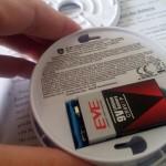 Jeising mit eingesetzter Batterie