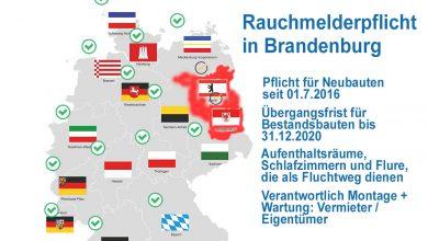 Rauchmelderpflicht Brandenburg Fakten Map